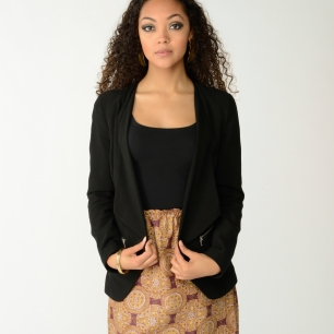 KV0012 Straight Banded Skirt