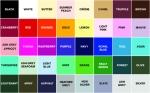 Select your chosen fabric colour for your KV design.
