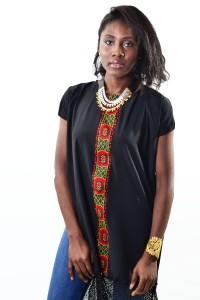 ZARAH [KV0016] Mesh trims T-shirt Dress.