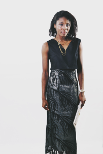 MONICA [KV0017] Silhouette Layer Pencil skirt.