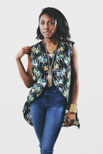 JANE [KV0026] Dress Tail Blouse.
