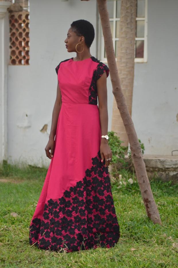 SUBY A-Line dress by Keji Victoria