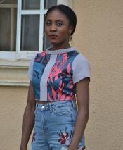 Bella by Keji Victoria. Stylish Crop Top