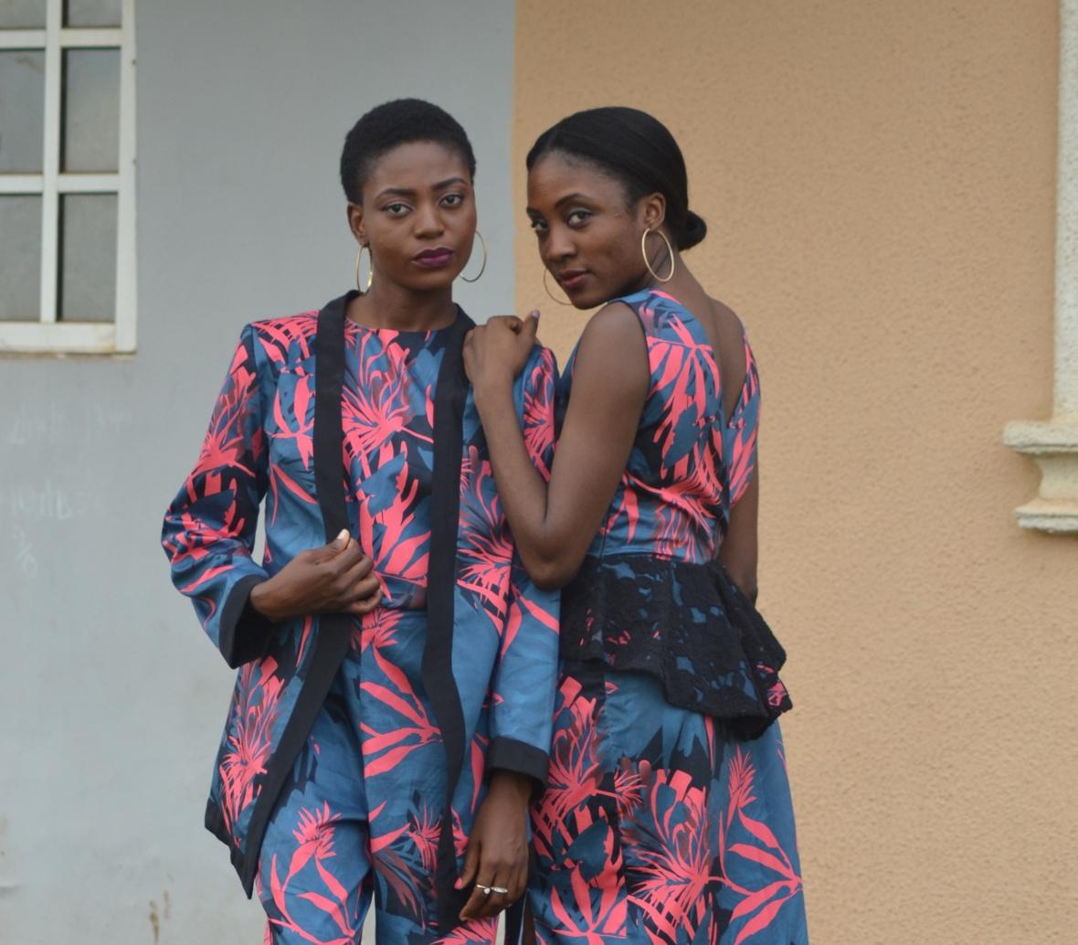 Peplum Blouse (TOYIN). Womenswear collection by Keji Victoria