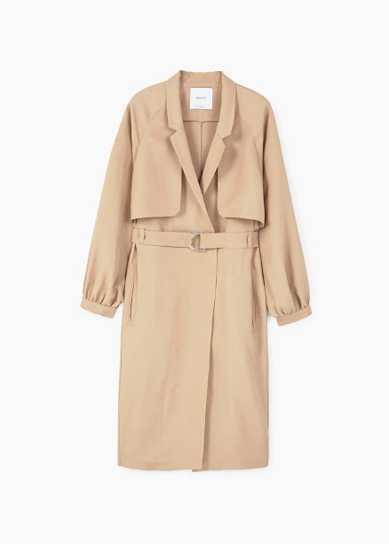Carmel trench coat
